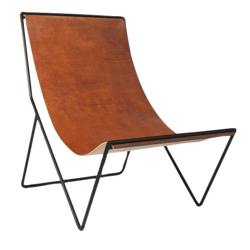 Sit and Read Sling Chair by Kyle Garner For Sale