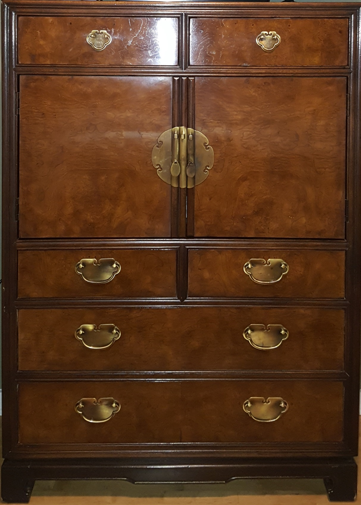 Drexel Heritage Asian Lacquer Armoire