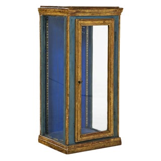19th Century Painted Display Case