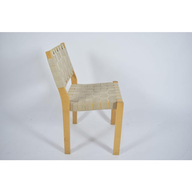 Alvar Aalto 615 Chairs - Set of 8 For Sale In Dallas - Image 6 of 8