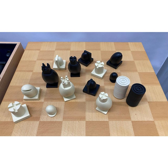 1990s Postmodern Chess / Checkers Set by Michael Graves For Sale - Image 12 of 13