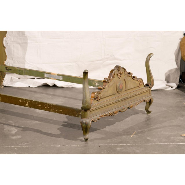 19th Century Venetian Style Twin Beds - a Pair For Sale - Image 10 of 13