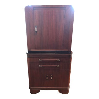1930s Art Deco Hamilton Medical Cabinet