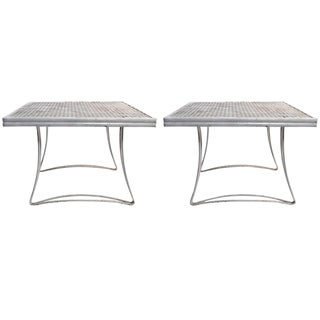 Pair of Homecrest Tables For Sale