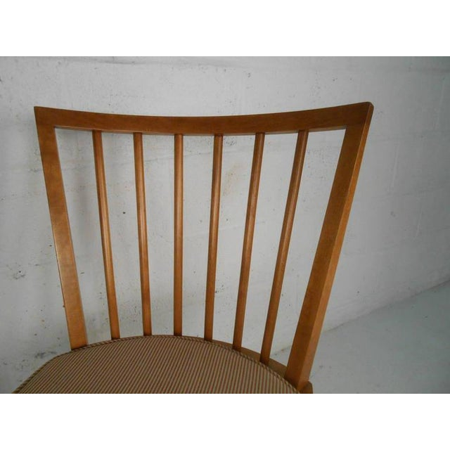 White Leslie Diamond for Conant-Ball Mid-Century Chairs - Set of 4 For Sale - Image 8 of 11