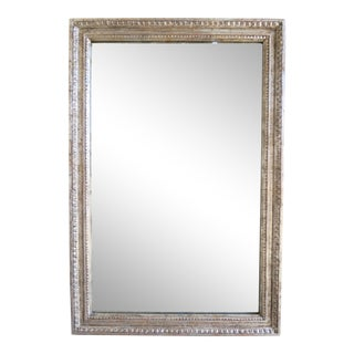 Italian Style Silver Gilt Mirror by Melissa Levinson For Sale