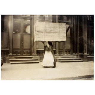 "Vintage ""Bringing Kindling Home"" Photography by Lewis Wickes Hine For Sale"