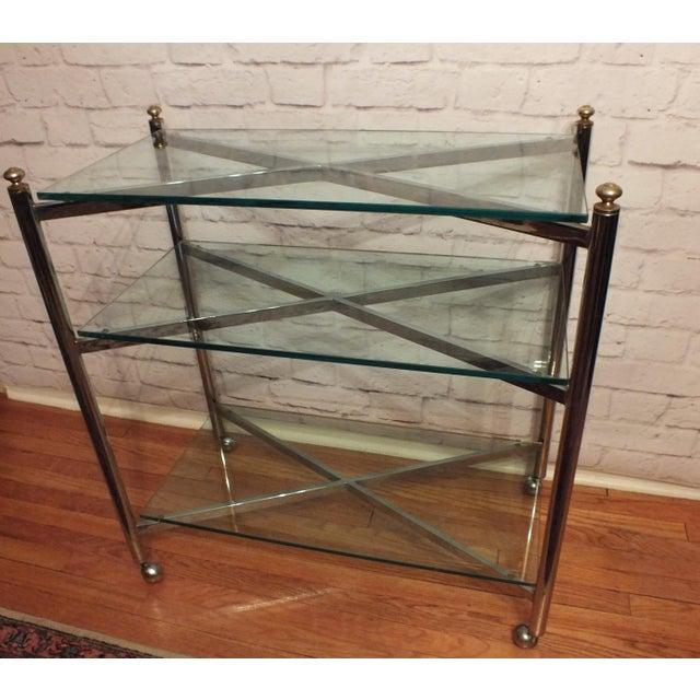 Maison Jansen Style Directoire 3 Tier Serving Cart - Image 2 of 6