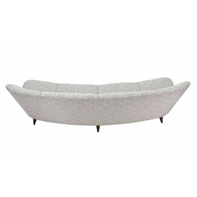 New Upholstery Curved Cloud Sofa For Sale In New York - Image 6 of 9