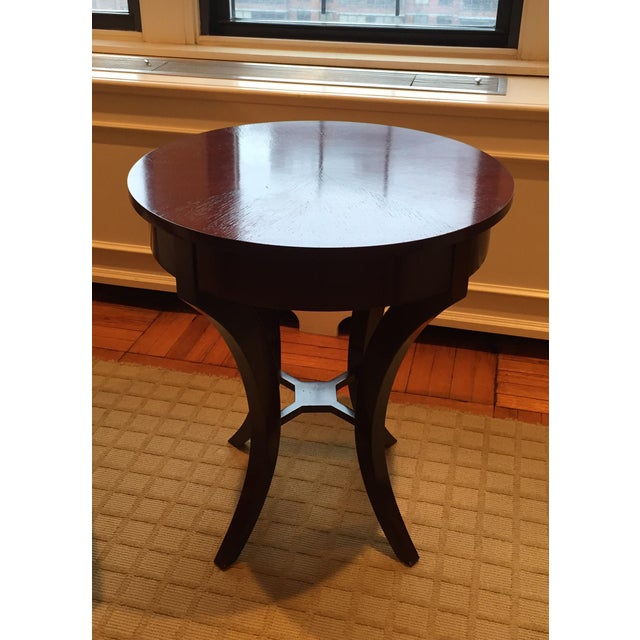 Brown Nancy Corzine Laughton Walnut Side Table For Sale - Image 8 of 8