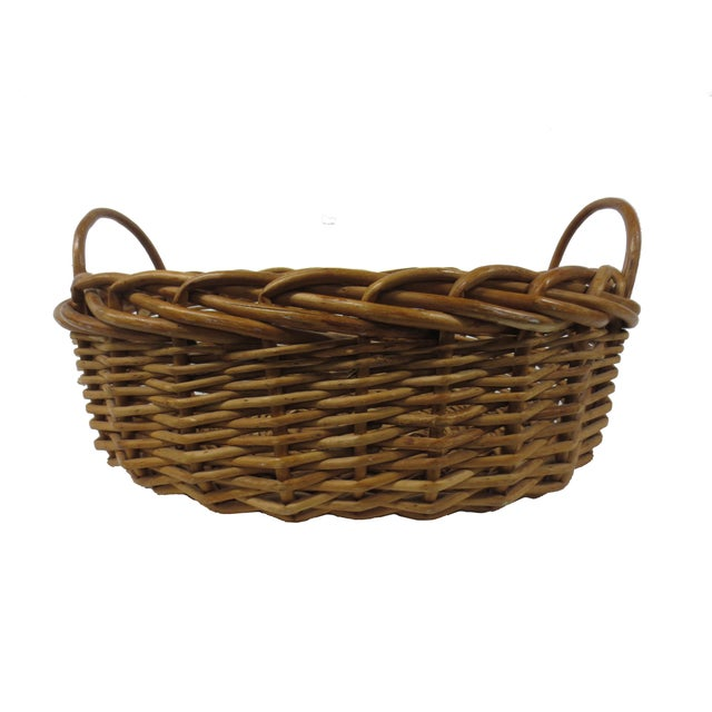 Giant Oversize Braided Willow Basket - Image 2 of 9