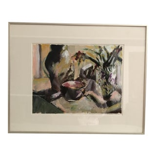 Original Vintage Impressionist Still Life Painting
