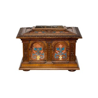 Italian Pietra Dura Jewelry Box For Sale