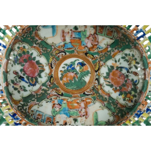 18th Century Antique Chinese Chin Fruit Basket For Sale In Los Angeles - Image 6 of 9