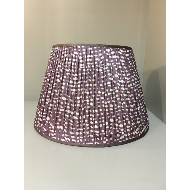 2010s Penny Morrison Amethyst Lamp Shade For Sale - Image 5 of 5
