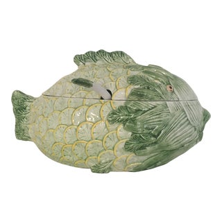 1970's Vintage Lemon Fish Tureen