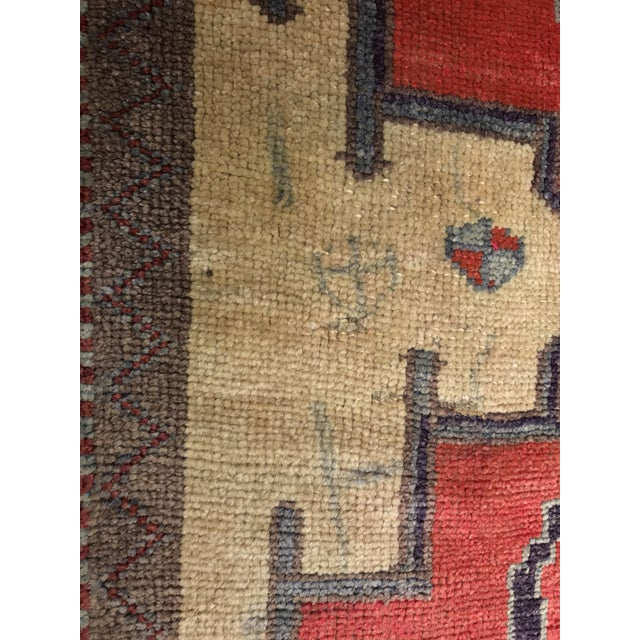 Bellwether Rugs Tribal Pattern Vintage Turkish Oushak Rug - 2′10″ × 12′3″ - Image 8 of 11