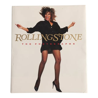 "1989 ""Rolling Stone the Photographs"" First Edition Art/Photography Book For Sale"