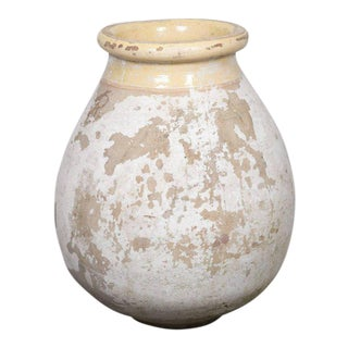 Large 19th Century Vintage French Terracotta Jar For Sale
