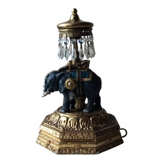 Antique Lamp, French 1930's Ecclectic Style For Sale