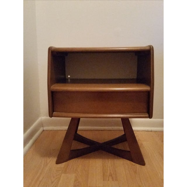 Heywood Wakefield Sculptura Nightstand - Image 2 of 10