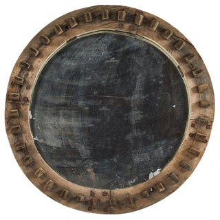 Industrial Cog as Mirror For Sale