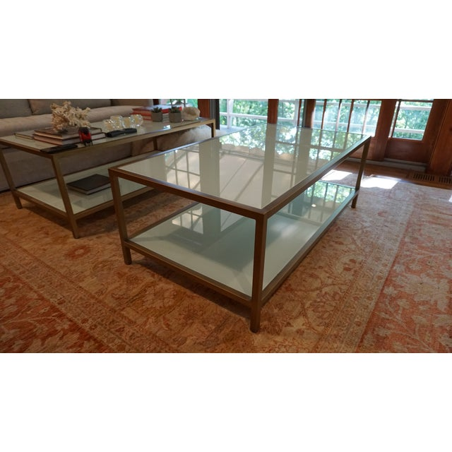 Metal Contemporary Suzanne Kasler Coffee Table For Sale - Image 7 of 8
