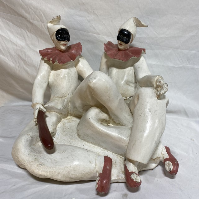Marbro Style Jester Sculpture For Sale - Image 12 of 12