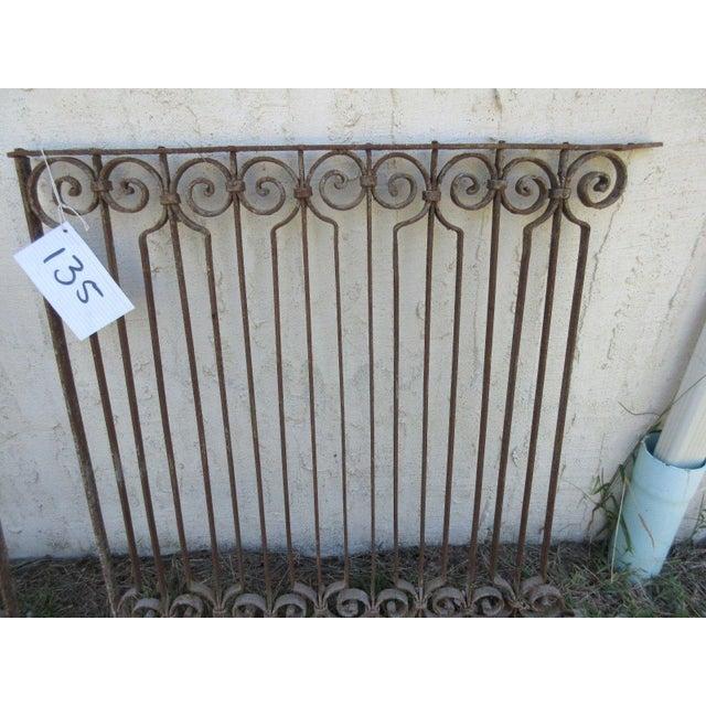 Antique Victorian Iron Gate - Image 6 of 6