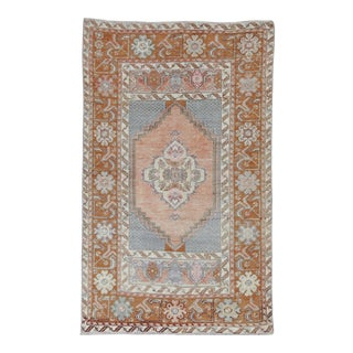 """Old Anatolian Rug, 3'2"""" X 5'2"""" For Sale"""