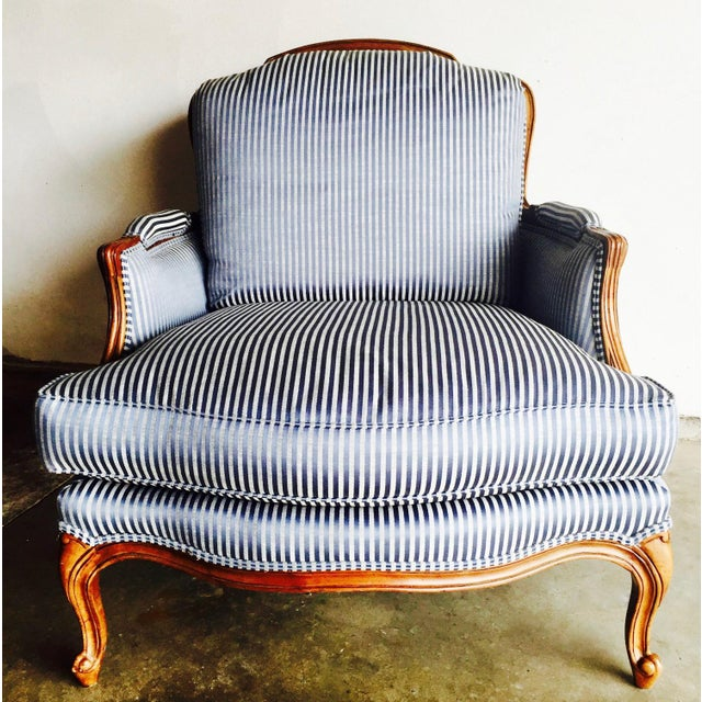 Vintage Heritage Bergere Chair & Ottoman - Image 6 of 10