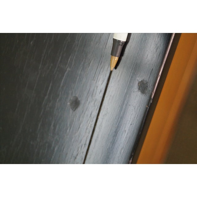 Tung Si Collection Ebonized Black & Teak Dresser - Image 10 of 10