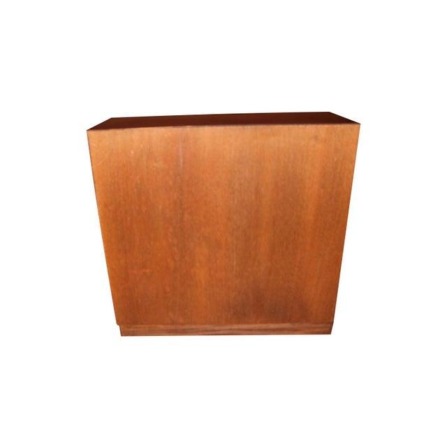 Mid-Century Modern Danish Modern Teak Storage Gents Chest Dresser For Sale - Image 3 of 10