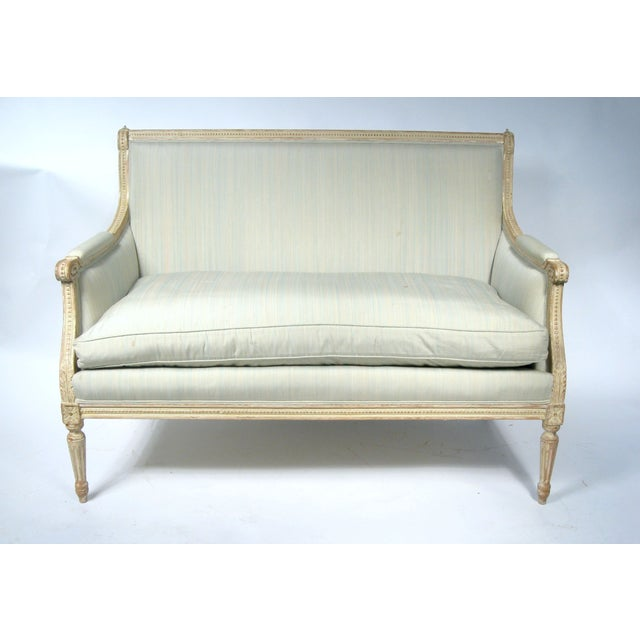 Settee in French Louis XVI Style - Image 2 of 10