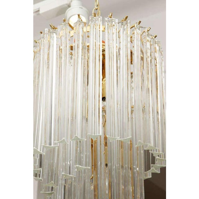 Murano Glass Foyer Chandelier For Sale - Image 9 of 9