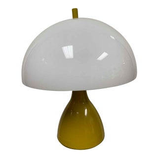 Vintage Mushroom Dome Lamp by Laurel For Sale