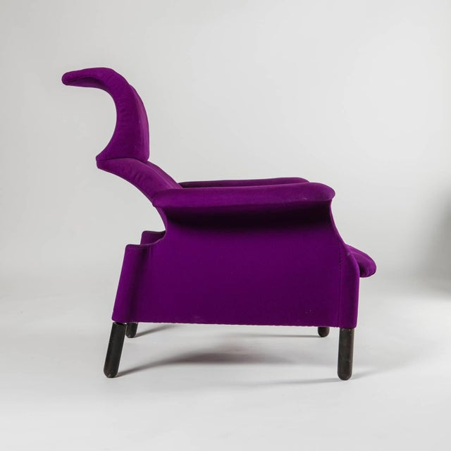 """Gavina Pair of """"Sanluca"""" Lounge Chairs by Castiglioni for Gavina For Sale - Image 4 of 10"""