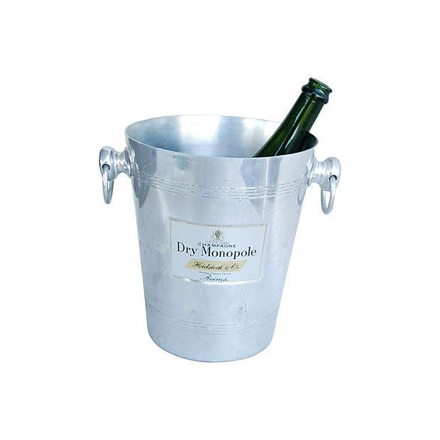 Vintage French 'Dry Monopole Champagne' Ice Bucket - Image 5 of 6