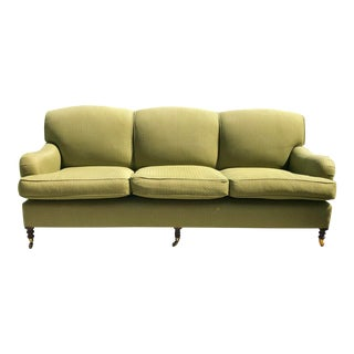 Modern George Smith Standard Roll Arm Sofa For Sale