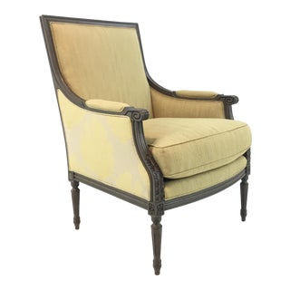 Currey & Co. Transitional Boxwell Club Chair For Sale