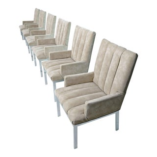 Milo Baughman for Design Institute of America Armchairs - Set of 6