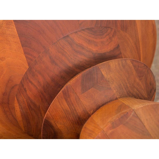 """Walnut Eames Time Life Stool """"C"""" For Sale - Image 7 of 8"""