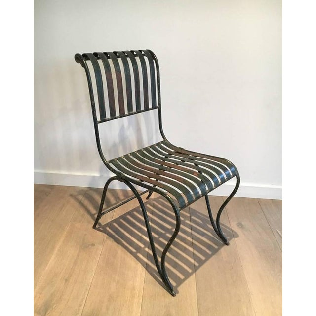 French Wrought Iron Garden Chair - Image 2 of 11