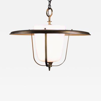 Brass Lantern, Bag Turgi, Switzerland 1950s For Sale - Image 7 of 7
