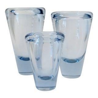 Per Lütken Akva Glass Vases, Set of 3 For Sale