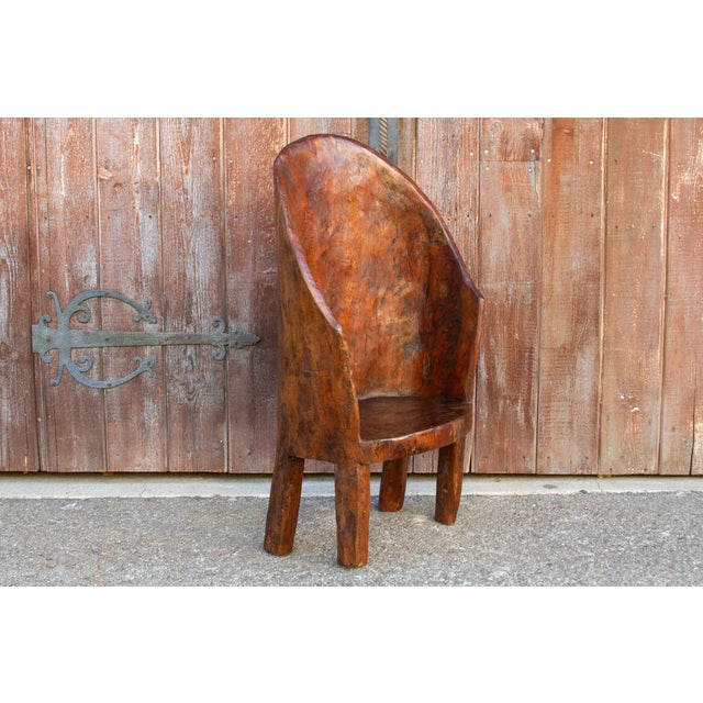 Chunky Tribal Naga Chair For Sale In Los Angeles - Image 6 of 10