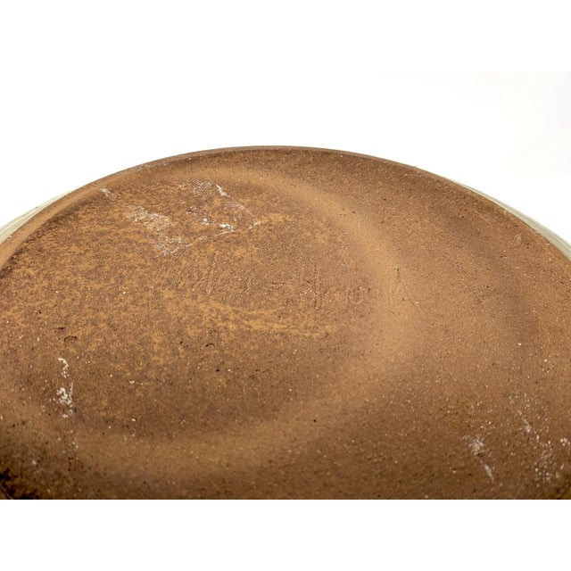 1970s Vintage Wishon-Harrell Pottery Covered Serving Dish For Sale - Image 9 of 10