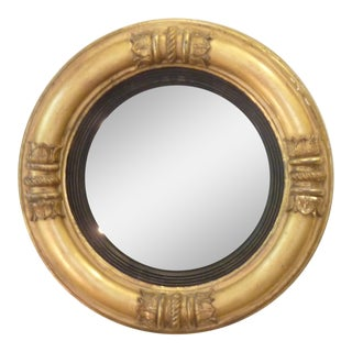19th Century Neoclassical Bull's Eye Wall Mirror