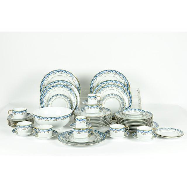 Limoges Made for Tiffany Dinner Set - Set of 42 For Sale - Image 9 of 9