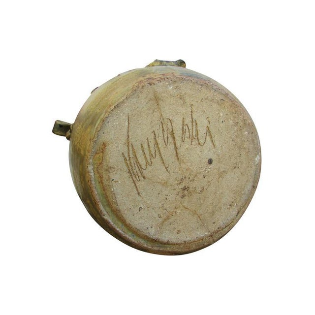 "Mid-Century Ceramic ""Pot"" Vase For Sale - Image 9 of 9"